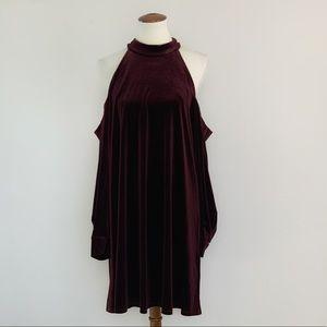 Shelli Segal Laundry Velvet Swing dress